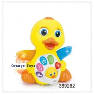 Huile Toys เป็ดน้อย EQ Flapping Yellow Duck ร้องเพลง มีปุ่มเสียง EFFECT สำหรับน้อง 18 เดือน+