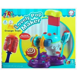 ชุดแป้งโดว์ - Lovely Pop Maker (เครื่องทำอมยิ้ม)