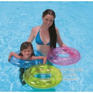 (ขนาด 20 นิ้ว) ห่วงยาง สีสะท้อนแสง (B36022) Neon Swim Ring 51 cm (20 นิ้ว) *** สีเขียว สีฟ้า สีชมพู *