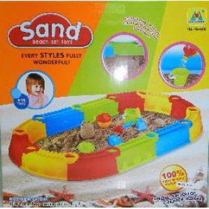 กระบะเล่นทราย ขนาดกลาง ** ไม่มีพื้น**