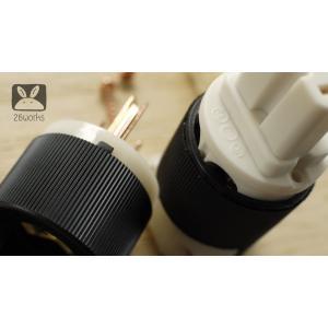 ปลั๊กไฟ หัว-ท้าย IEC ดำ-ขาว