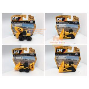Set รถบรรทุกขนาดเล็ก CAT Mini Machine รถแม็คโคร รถตักดิน รถดั้ม CAT Toys Construction Set of 4