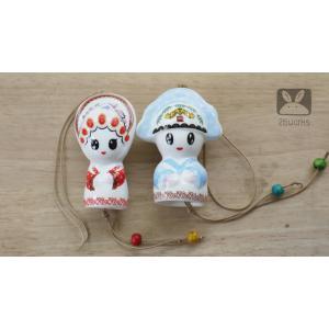 ตุ๊กตาคู่ บ่าว สาว ชุดจีน