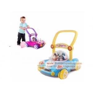 รถผลักเดิน Toddler walker ปรับหนืดได้ สีฟ้า