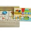 โดมิโน่ 28 ชิ้น ชุดภาพของเล่นเด็ก ของเล่นเสริมพัฒนาการโดมิโน่เด็ก