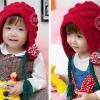 หมวกไหมพรมสีแดง เก๋ๆ น่ารักสไตล์เกาหลี