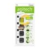 Anitech ปลั๊กพ่วง 4 ช่อง รุ่น H304-WH (สีขาว)