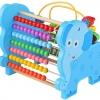 ของเล่นไม้ลูกคิดไม้ช้าง 3in1 ลูกคิดหัดนับสำหรับเด็ก