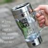 แก้วปั่นชง นม กาแฟ ชา โกโก้ เวย์ self stirring mug ขายดี แก้วปั่นอัตโนมัติ