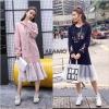 เดรสเกาหลี พร้อมส่ง Dress Hood แขนยาว