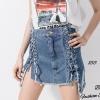 พร้อมส่ง Jeans Style Korea กระโปรงยีนส์