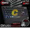 Keyboard Rubber Dome Signo E-Sport KB-730 Centaurus Semi Mechanical Gaming
