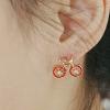 """""""ต่างหูจักรยาน"""" ..น่ารักมั่กเลยจ้า ต่างหู, เครื่องประดับ"""