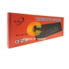 Keyboard USB Primaxx (WS-KB-502) Black/Red