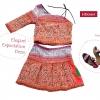 ชุดเกาะอก ผ้าชาวเขา HD016A / Elegant Expectation Dress HD016A