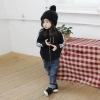 เสื้อแจ็คเก็ตเด็ก สีดำแต่งด้วยซิป เก๋ เทห์