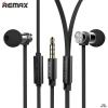 Remax หูฟัง สมอลทอร์ค RM-565i สีดำ ใส่หูง่าย ฟังสบาย