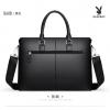 กระเป๋าถือแบบสะพายหนังสีดำ