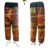 กางเกงผ้าชาวเขา กางเกงทรงฮาเร็ม HBP F / Cropped Harem PantsHmong style HBP F