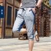 กางเกงขาสั้น3ส่วน JOGGER GREY/ฺNAVY STRIPED