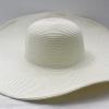 ชิ้นงานเดิบ เส้นใยธรรมชาติ ทำ Decoupage งานเพนท์ หมวกผ้าทอปีกกว้าง