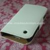 ชิ้นงานดิบ เคสโทรศัพท์ แบบเปิดข้าง iPhone 3 ซองหนังเรียบ