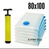 GH163 ถุงสูญญากาศเป็นเซ็ต 6 ใบ ขนาด 80x100 cm. และ กระบอกสูบ 1 ชิ้น