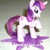 2011 McDonald's แมคโดนัลด์ ของเล่น ของสะสม My Little Pony ออกเมื่อ กันยา 54 อยู่ในแพ็คค่ะ MIP