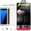 Tronta ฟิล์มกระจกเต็มจอ ฟิล์มกันรอยมือถือ Samsung Galaxy S7 Edge สีใสขุ่น ซัมซุงเอส7เอจ