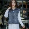 เสื้อเกาหลี พร้อมส่ง เสื้อเชิ้ต ยีนสุดเทห์