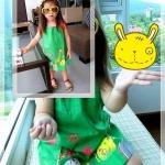 ชุดเด็ก(เดรส)Green_Zoo ไซส์ 3,4