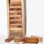 เกมจังก้า(Jenga)ของเล่นไม้ตึกถล่ม size L - บล็อกไม้ตึกถล่มฝึกสมาธิ พัฒนาสมอง
