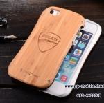 DRACO Design DUCATI Logo Aluminum Wood Hybrid Waistline Popular 2 in 1 Metal+Wood Bumper Case for iPhone5 5S