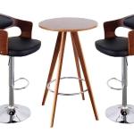 เซทโต๊ะบาร์ 2 ที่นั่ง สำหรับร้านกาแฟ ร้านอาหาร (RT-BAR)