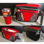 กระเป๋าเก็บอุณภูมิแก้ว Ozark trail และ Yeti สีแดง สีสันสวยงาม ดีไซน์สุดเท่ห์