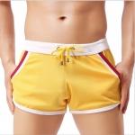 SP0025 กางเกงขาสั้นแนวสปอร์ต : สีเหลือง