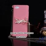 iPhone 4(S) Yves Saint Laurent YSL Clutch Bag Case สีชมพูอ่อน