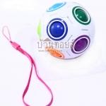 ของเล่นเสริมพัฒนาการ บอลฝึกสมาธิ (Rainbow Magic cube ball fidget cube Toys)