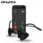 หูฟังบลูทูธ Awei A840BL สีดำ คุณภาพเสียงดี เสียงมีมิติ