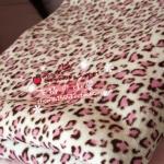 Leopard ผ้าห่ม / ผ้าคลุม ลายเสือขนนุ่ม