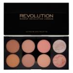 Makeup Revolution Blush Palette in Hot Spice ปัดเเก้ม สีออกส้ม ชมพู ทำคอนทัวร์ได้ ไฮไลท์ได้