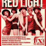 [Pre] f(x) : 3rd Album - RED LIGHT (Ver.B - Wild Cat) +Poster