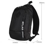 Coleman - ATLAS SLING BAG – 5 L Black (สีดำ) コールマン ボディバッグ アトラス スリングバッグ 対応 自転車/ウォーキング สำเนา