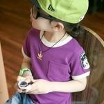 เสื้อผ้าเด็ก สีม่วง (CI & SI)ไซส์ 90