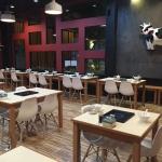 โต๊ะชาบูหม้อฝัง เฟอร์นิเจอร์โต๊ะ-เก้าอี้ สำหรับร้านชาบู ร้านปิ้งย่าง ร้านอาหารเกาหลี