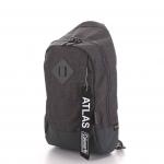 Coleman - ATLAS SLING BAG – 5 L Heater (สีเทาควันบุหรี่) コールマン ボディバッグ アトラス スリングバッグ 対応 自転車/ウォーキング