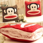 Paul Frank Pillow Blanket ( หมอนผ้าห่ม paul frank )