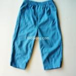 กางเกงเด็กเล็ก สีฟ้าเข้ม ไซส์ 18 เดือน