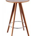 โต๊ะบาร์กลม 60xh105 ซม.สำหรับแต่งร้านกาแฟ ผับบาร์ (JD-BAR)