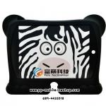 2014 Luxury KaZoo Cute Animal Silicone Stand-up Shockproof Drop resistance Anti-Dust Defender Case For iPad Mini / iPad Mini 2